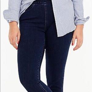 Jcrew Pull-on toothpick jeans plus size 37/24